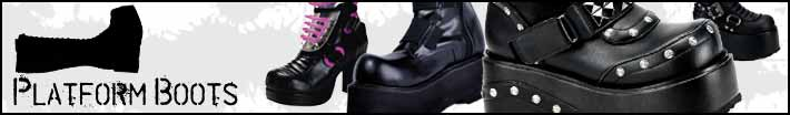 Mens platform boots