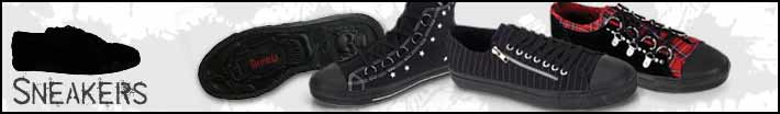 Gothic sneakers