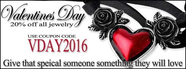 Rivithead's Gothic Valentines day sale 2016