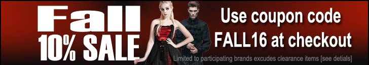 Rivithead Fall Gothic Clothing Sale