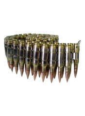 Brass/Gold/Nickel 0.308 MM Caliber Bullet Belt