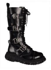 T.U.K. 4 Buckle Boots - Clearance