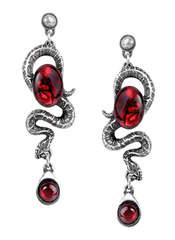 Serpents Eye Earrings