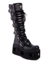 New Rock M272-S2 Platform Leather Boots