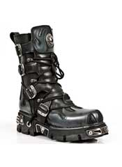 New Rock M591-S2 Black Boots