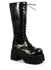 RANGER-302 Black Knee Boots