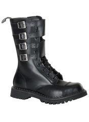 ATTACK-10 Black Boots