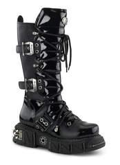 DMA-3006 Black Platform Boots
