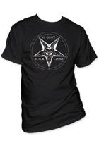 45 Grave - Black Cross T-shirt