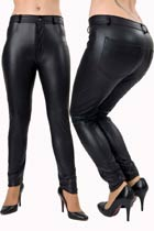 Rubber Look Jeans - Clearance