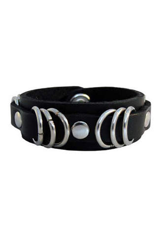 71 Leather Wristband