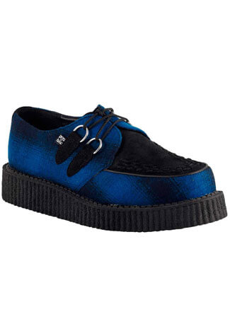 T.U.K. A8055 - Blue Black Creepers