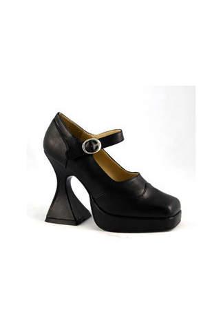 BAT Black PU Shoes