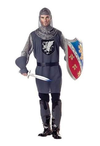Valiant Knight Costume - Clearance