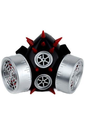 Porcupine Silver Red Respirator
