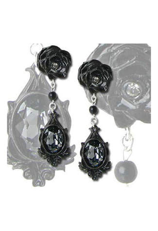 Dark Desires Dangle Earrings