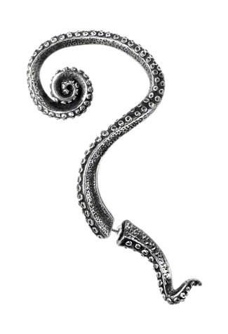 Kraken Ear Wrap Earring Cuffs