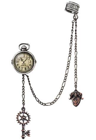 Uncle Albert's Timepiece Ear Cuff