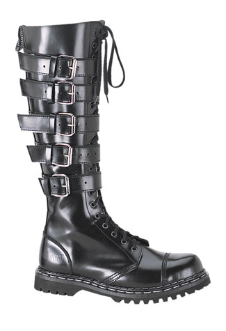 GRAVEL-20 - 20 Eyelet Steel Toe Boots