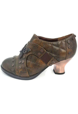 ICON Brown Oxford Shoes