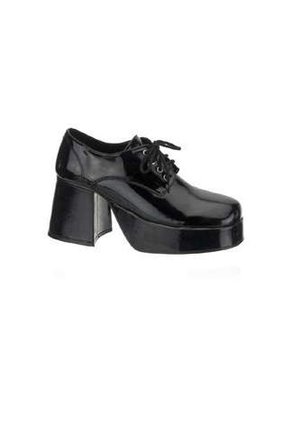JAZZ-02 Black Patent Shoes