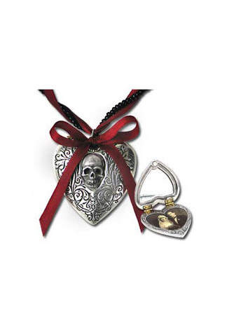 The Reliquary Heart Locket Pendant