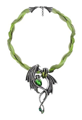 The Emerald Dragon Choker
