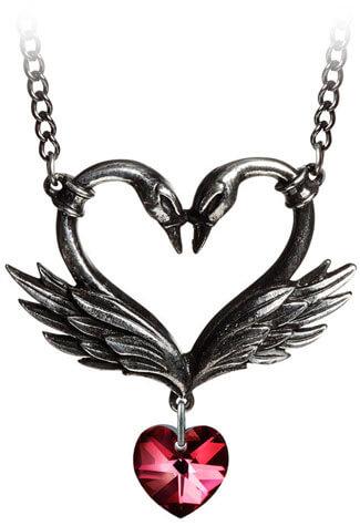 The Black Swan Romance Necklace