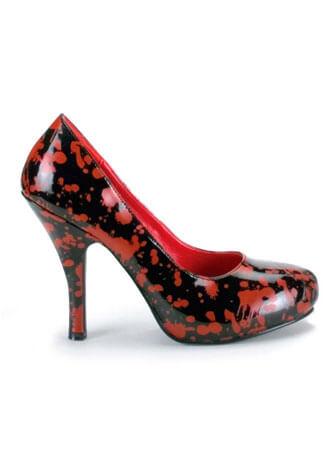 BLOODY-12 Red Black Heels