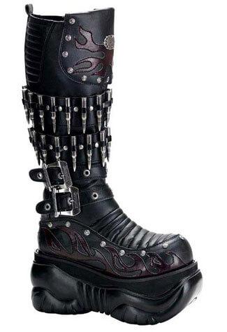 BOXER-201 Platform Military Boots
