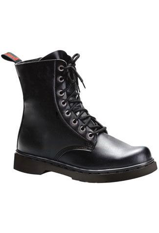 DEFIANT-100 Black Combat Boots