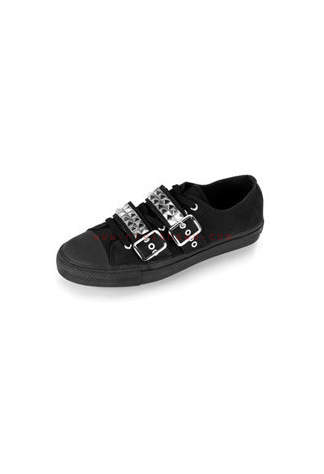 DEVIANT-08 Pyramid Studded Sneakers