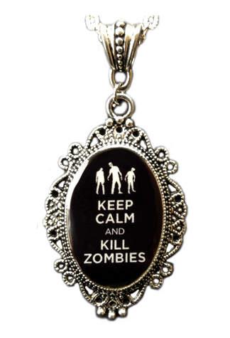 Zombie Cameo Pendant