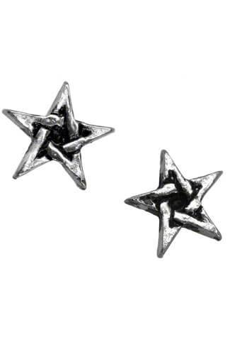 Pentagram Earring Studs