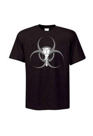 Biohazard Rat Skull T-Shirt