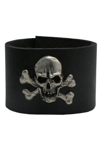 47 Leather Wristband