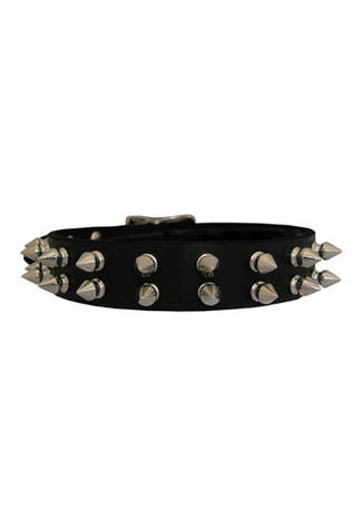 142C Leather Choker