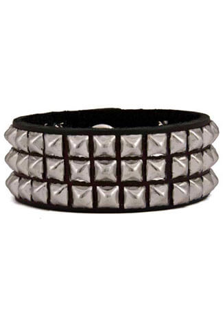 81 Mini Pyramid Wristband