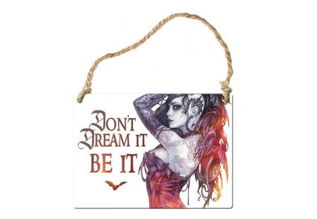 Don't dream it be it door hanger
