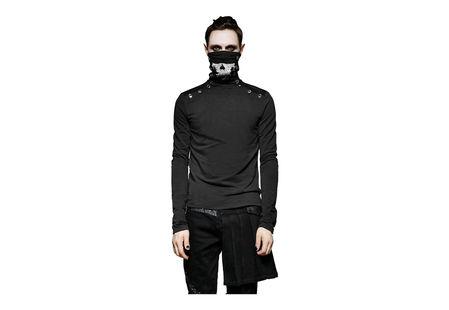 Damien Men's Skull Long Sleeve Shirt
